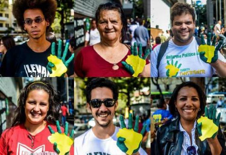 Em Brasília, Dilma recebe resultado do plebiscito por uma Constituinte do Sistema Político