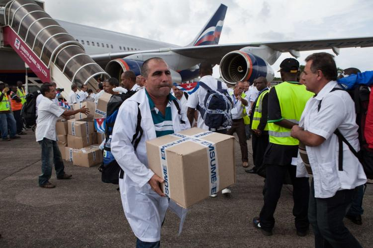 NY Times: a impressionante atuação de Cuba contra o ebola