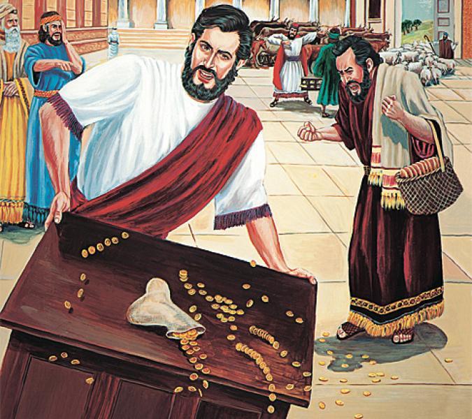 Mas Ele falava do templo do seu corpo - João 2