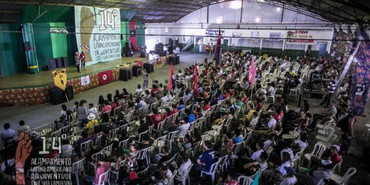 Juventude reafirma a unidade da luta popular