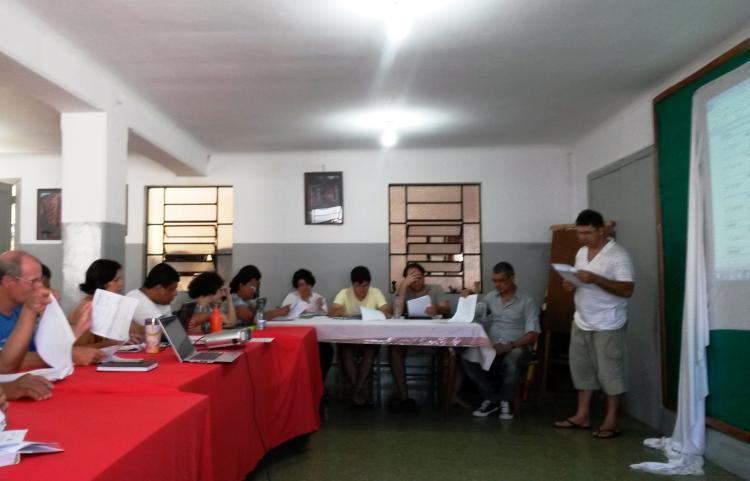 Efeitos do campo Fé e Justiça – oficina de PMA do CEBI