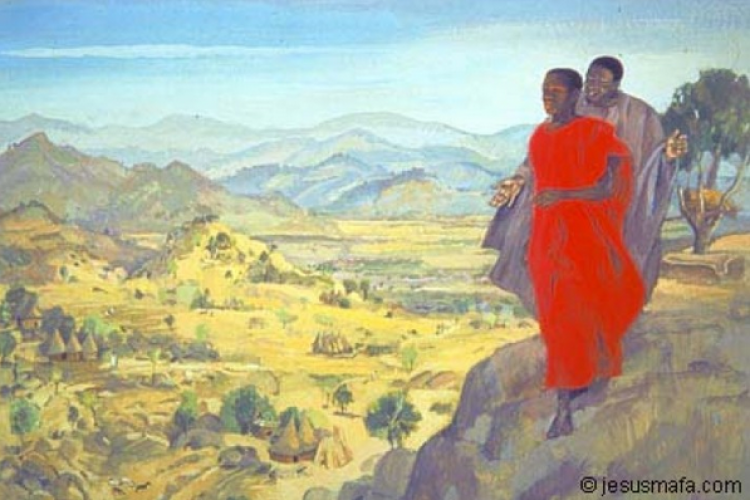 Mc 1, 12-15: A Boa Nova é testada e provada no deserto. [Mesters e Lopes]