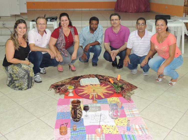 Encontro de formação bíblica sobre o evangelho de João em Umuarama, PR