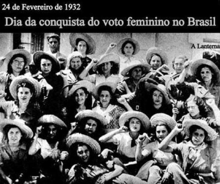83 anos de voto feminino: por mais mulheres na política!