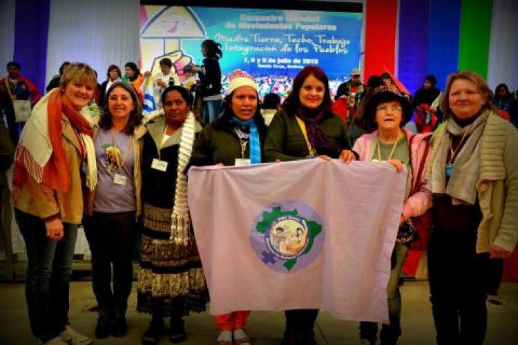 MMC presente no Encontro Mundial de Movimentos Populares, na Bolívia