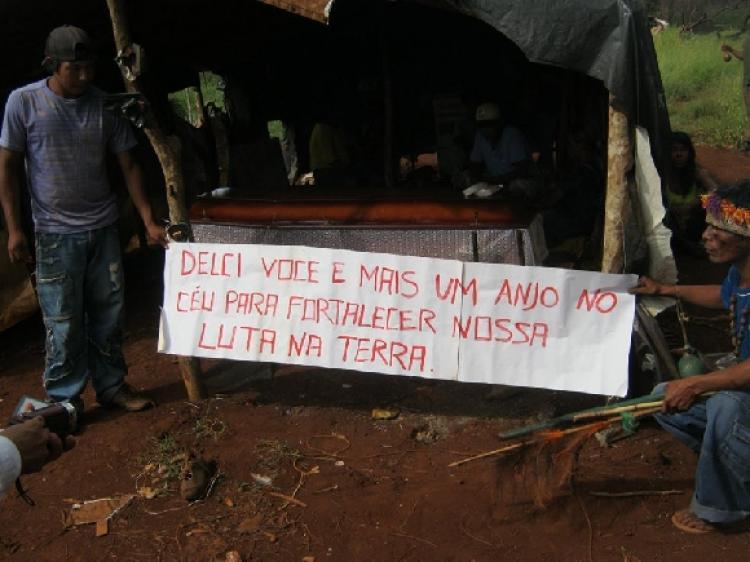 Carta denuncia crise humanitária do povo Guarani e Kaiowá em Dourados (MS)