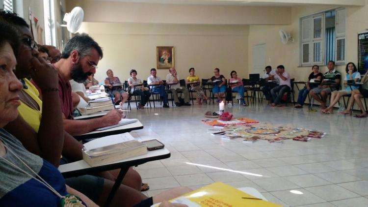 Participantes do Curso de Capacitação em Assessoria Bíblica (2015 / Fortaleza) lançam carta aberta