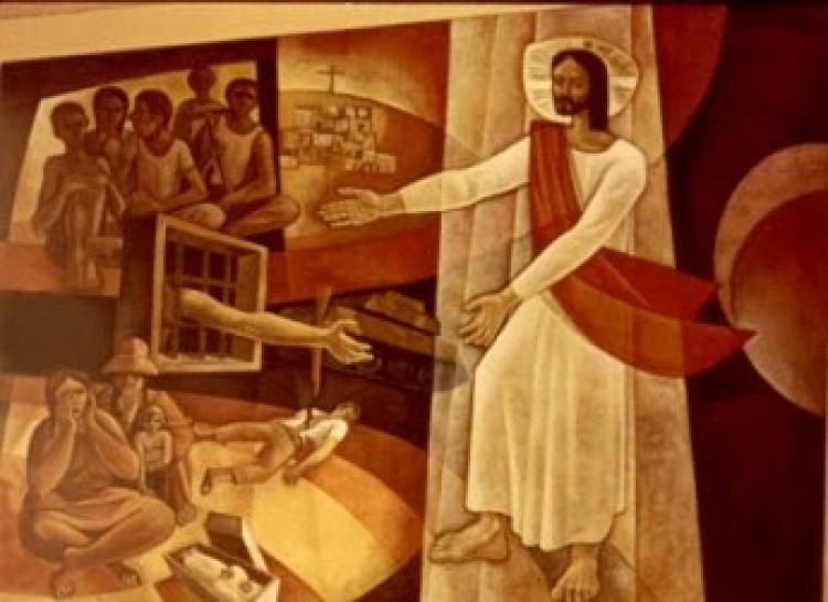 """""""Se alguém quer me seguir, tome a sua cruz, renuncie a si mesmo e me siga"""" (Mc 8, 27-35) [Pe. Thomas Hughes]"""