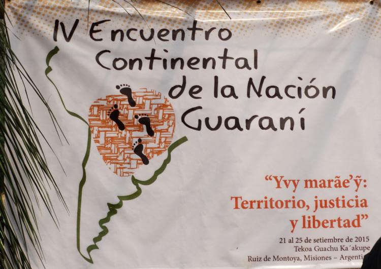 CEBI-MS participa do IV Encontro Continental da Nação Guarani na Argentina