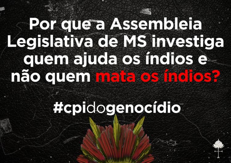 Missão Ecumênica visita e faz mobilizações no MS em solidariedade aos povos indígenas e pela CPI do Genocídio