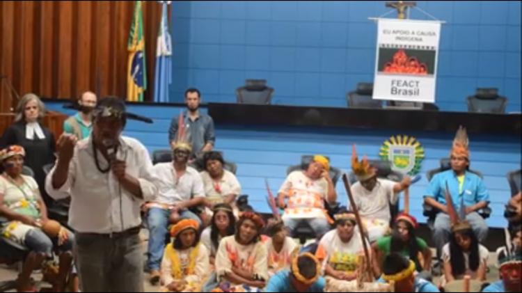 Indígenas anunciam ocupação da Assembleia Legislativa de Mato Grosso do Sul!