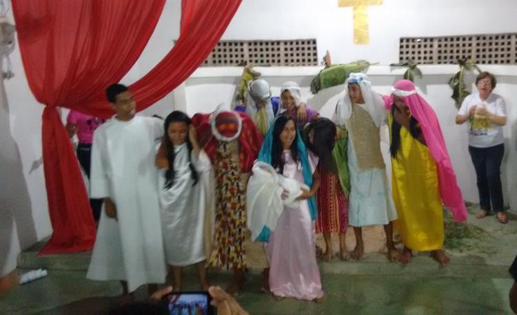 CEBI-PB Jovens da Escola Bíblica aprendem com o teatro