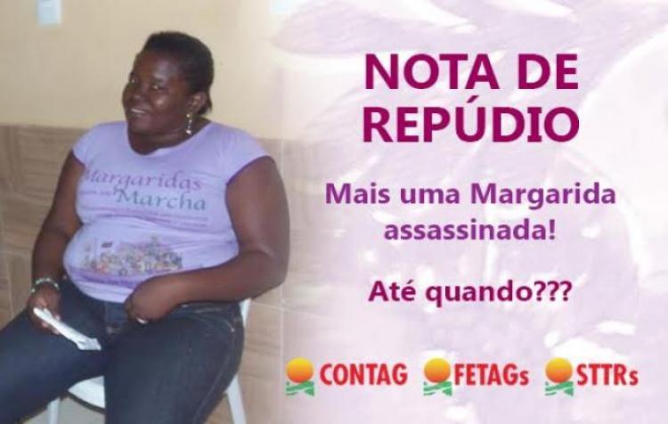 Latifúndio assassina mulher sindicalista no Maranhão