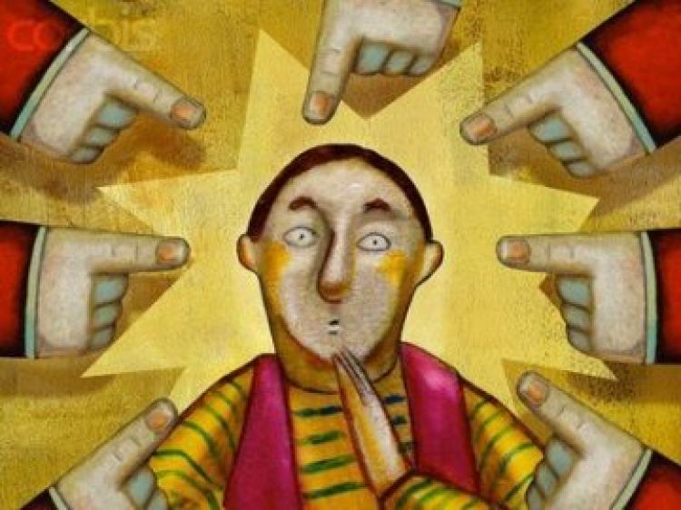"""""""Quem não tiver pecado, atire nela a primeira pedra"""" (Jo 8, 1-11) [Pe. Tomaz Hughes SVD]"""