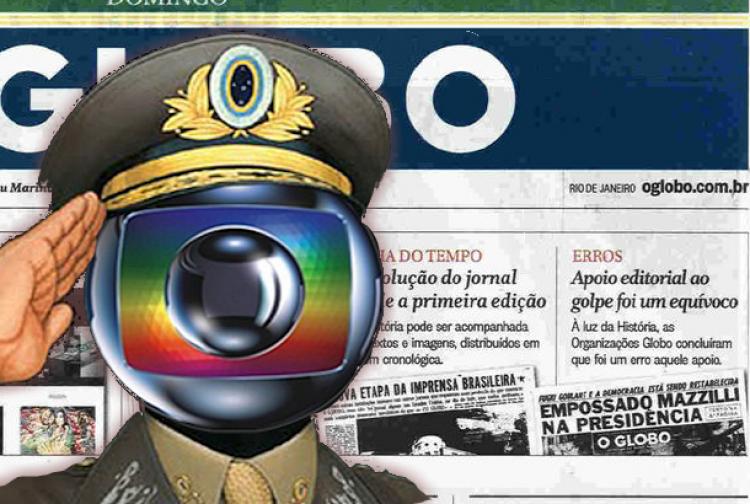 A Globo e a narrativa dissimulada em terceira pessoa