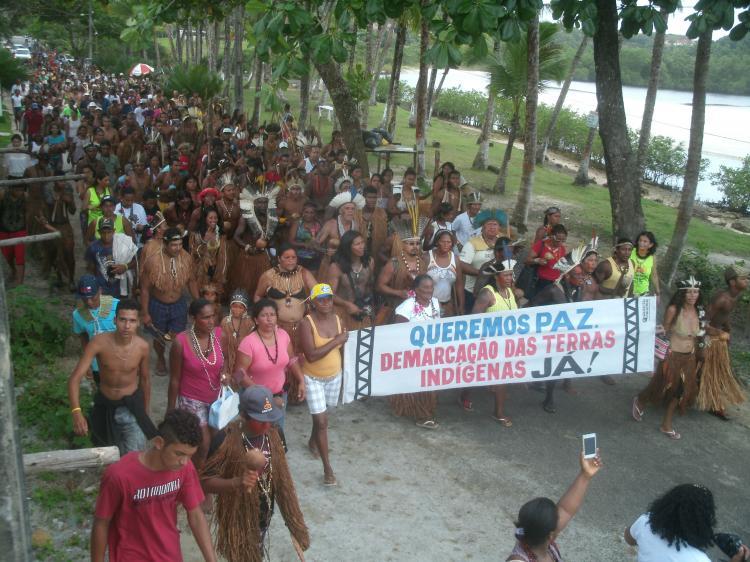 Povos Tupinambá sofrem despejo violento e arbitrário na Bahia