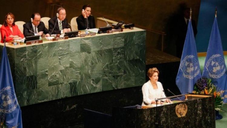 Dilma: sem redução da pobreza será impossível combater mudanças do clima