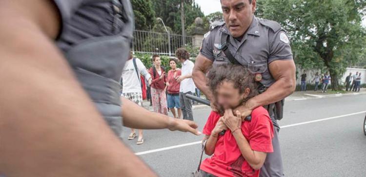 Polícia de Alckmin viola Estatuto da Criança e do Adolescente
