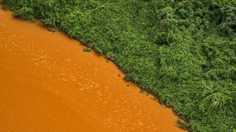 Laudo indica metais cancerígenos na foz do Rio Doce