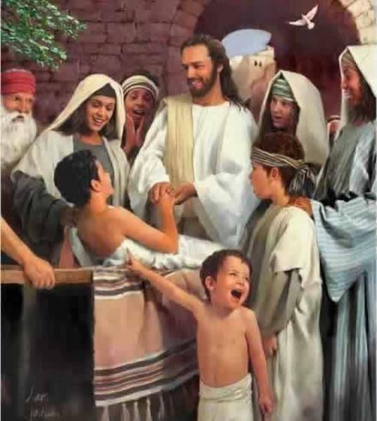 O filho da viúva de Naim (Lucas 7