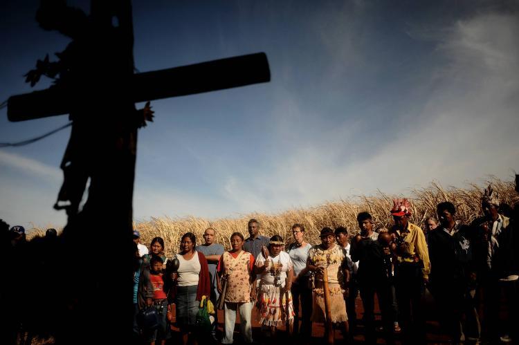 Despejo é genocídio: em defesa dos Guarani e Kaiowá do Apyka'i