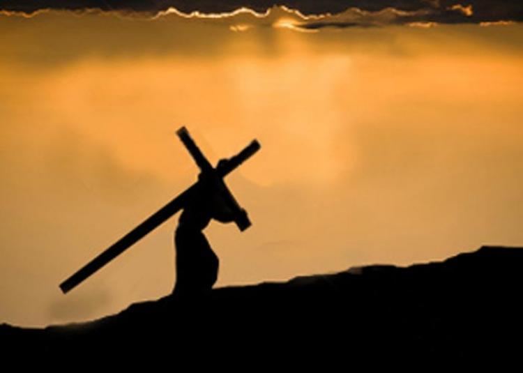 """""""Se alguém quer me seguir, renuncie a si mesmo, tome cada dia a sua cruz e me siga"""" (Lucas  9, 18-24) [Tomaz Hughes SVD]"""