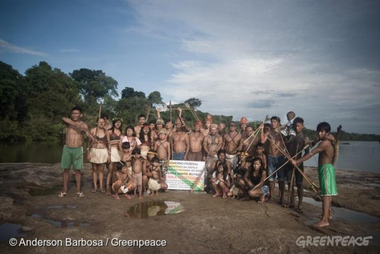 Sob ameaça de hidrelétricas, povo Munduruku exige demarcação de território tradicional no Tapajós