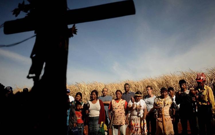Acadêmicos do MS exigem punição para assassinos de Guarani Kaiowá