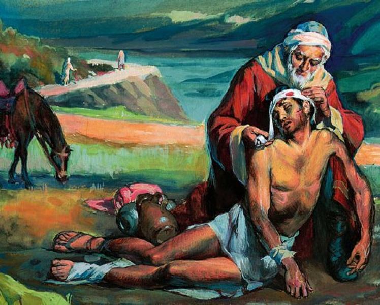 """A parábola do """"Bom Samaritano"""" (Lucas 10"""