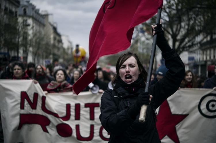 Causa de protestos na França