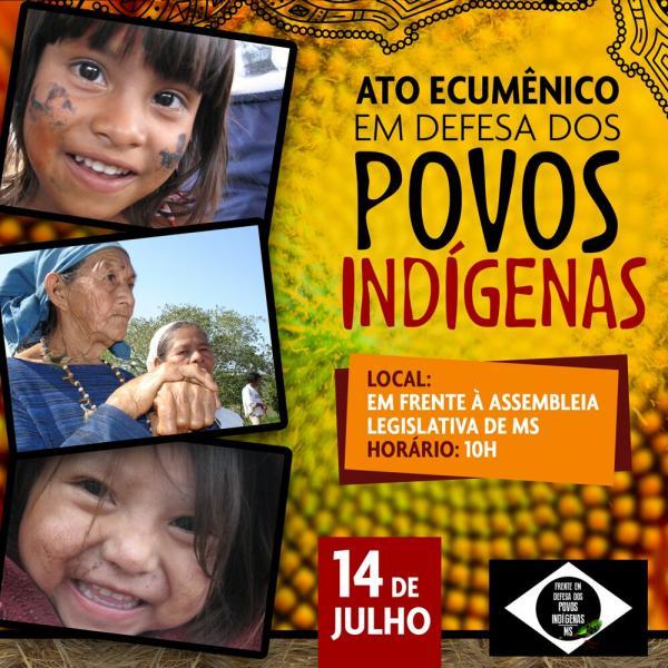 Missão Ecumênica junto aos povos indígenas do MS
