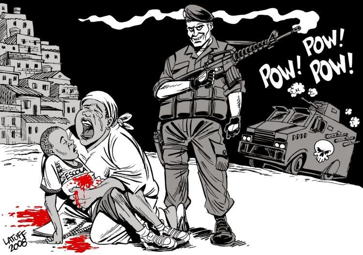 Teste: Estado Islâmico ou Violência Brasileira? A vida do pobre é um terror