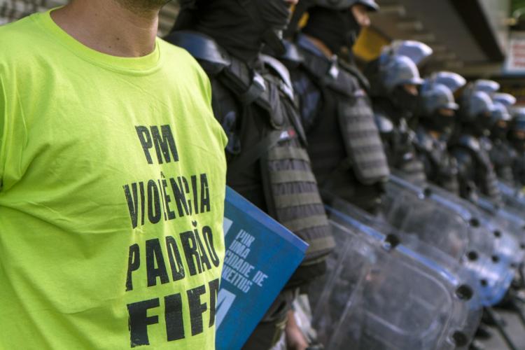O legado olímpico será intensificar a violência policial no Brasil [Sinara Gumieri]