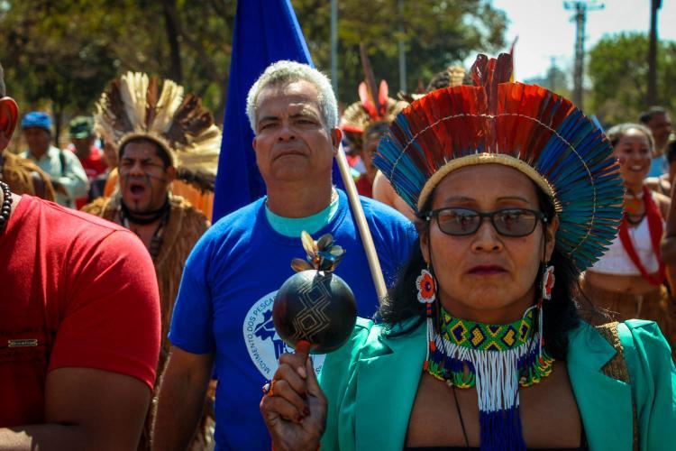 Indígenas, quilombolas e pescadores pedem à Alemanha que não importe produtos de quem agride suas vidas e territórios