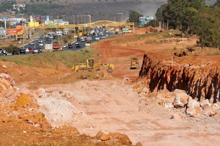 Obras do Trevo de Triagem Norte ignoram exigências ambientais