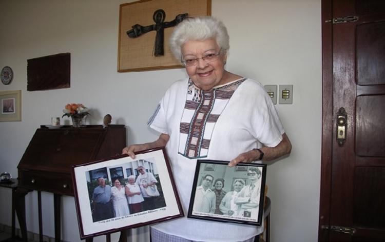 Irmã Agostinha realiza sua Páscoa