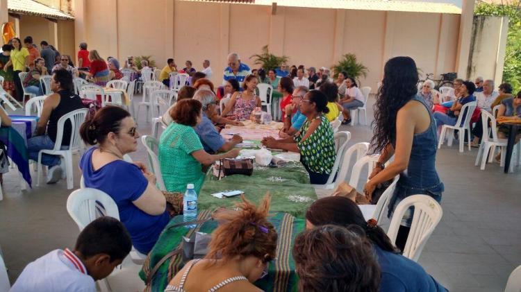 CEBI- CE realiza almoço solidário