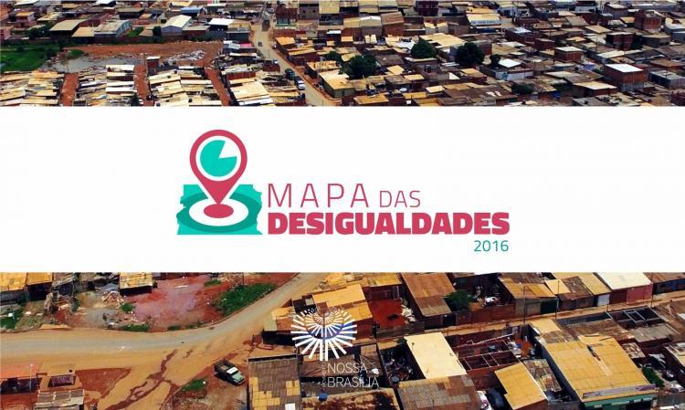 Pesquisa: Brasília tem um dos maiores níveis de desigualdade econômica e social do país