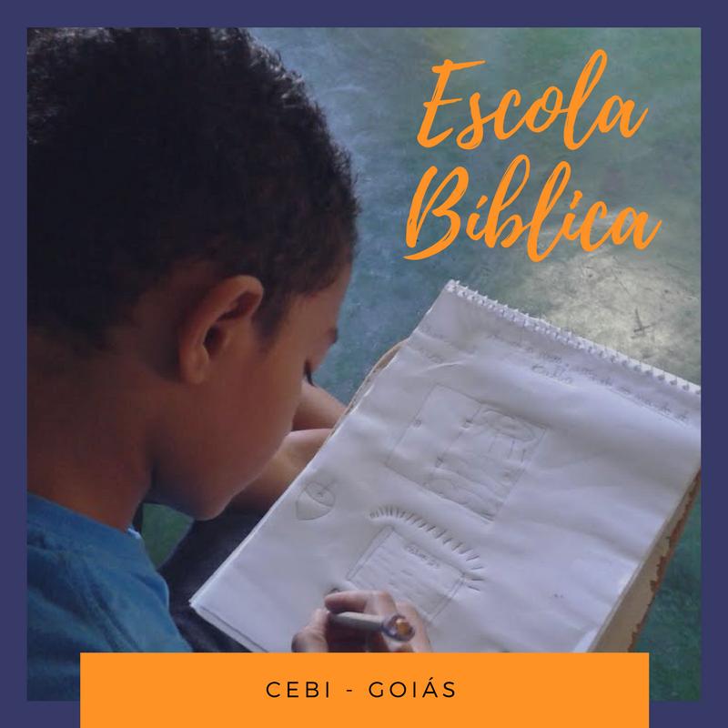 CEBI-GO Escola Bíblica reúne crianças e jovens em torno da leitura do Êxodo