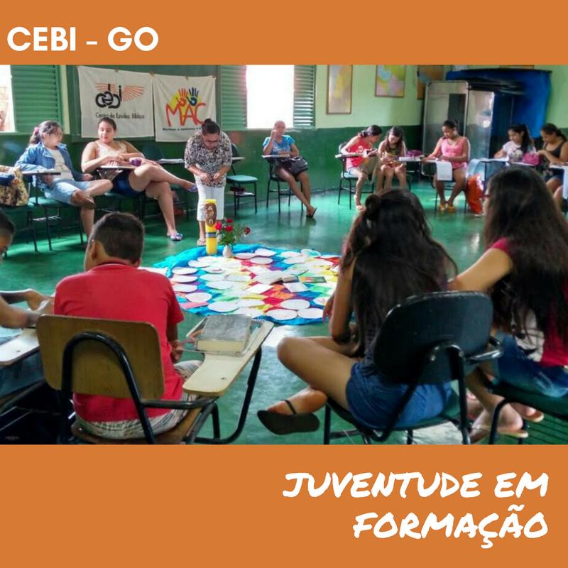 CEBI-GO Grupo de jovens realiza Escola Bíblica