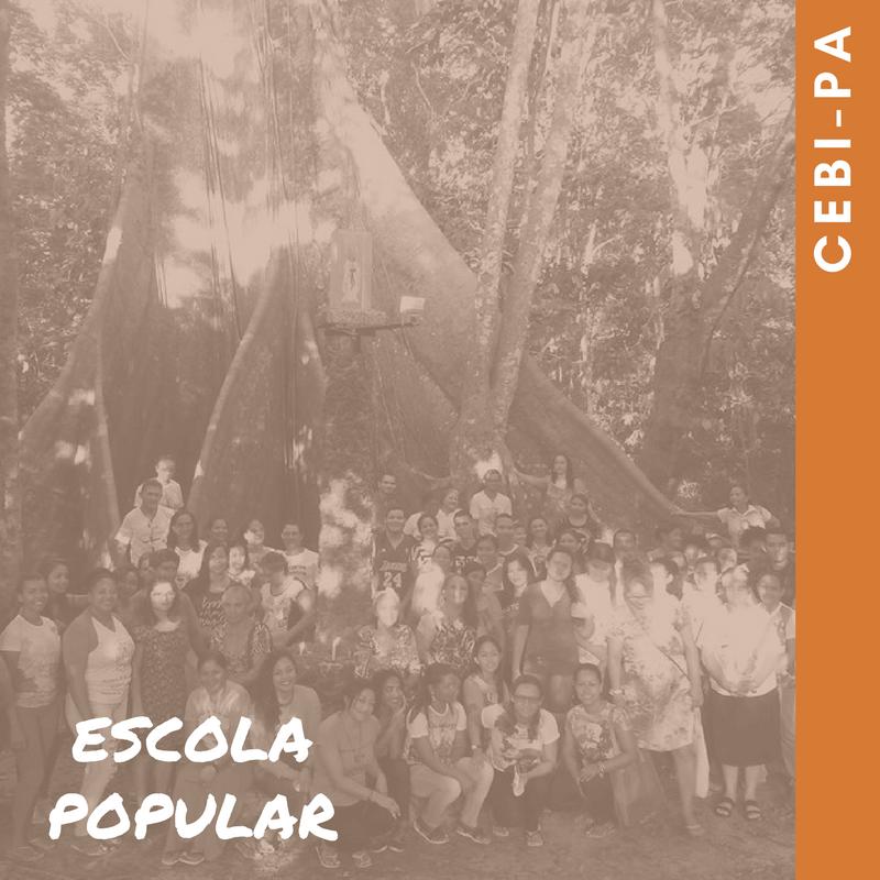 CEBI-PA Comunidades de Barcarena, Pará, estudam o Evangelho de Mateus