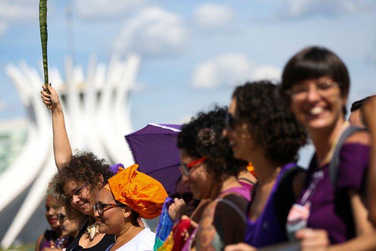 """""""O movimento feminista no Brasil é o mais organizado da América Latina"""""""