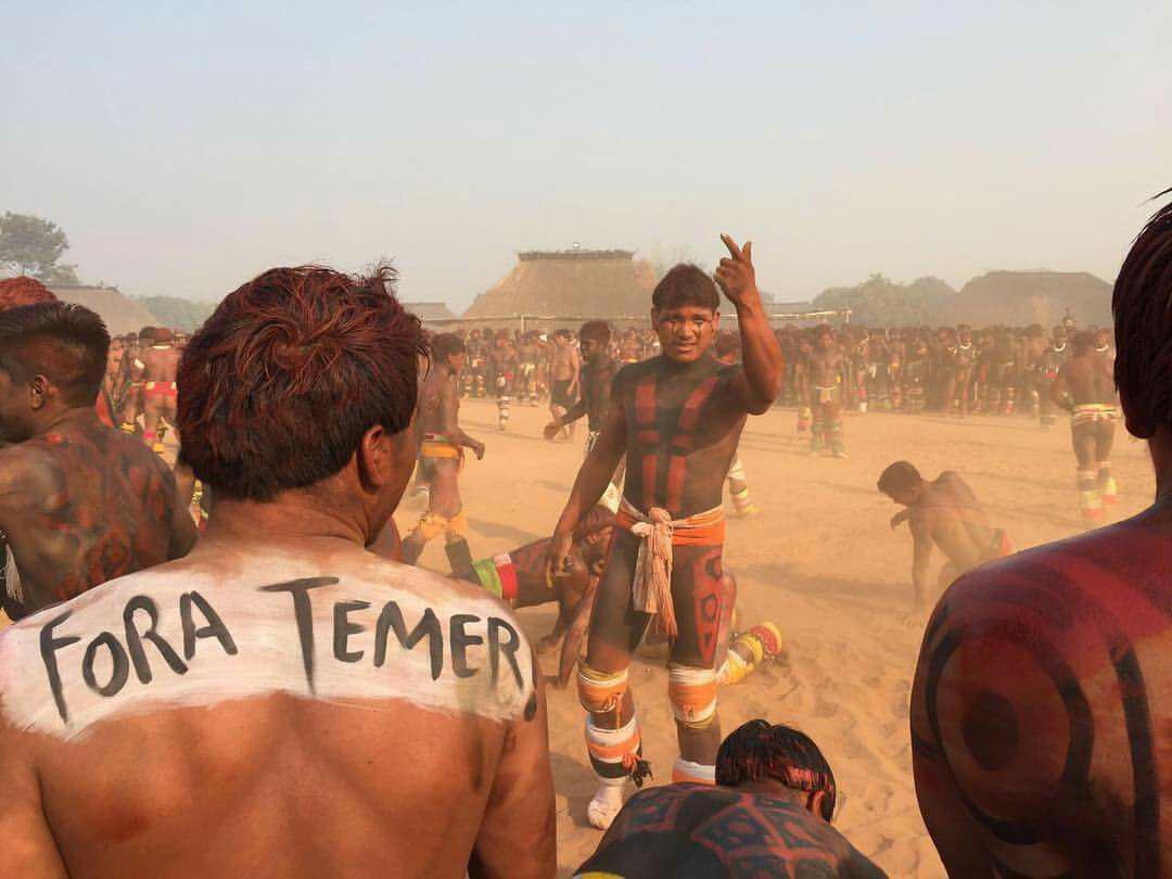 Vergonha mundial. Na semana do Dia Internacional dos Povos Indígenas, Temer é denunciado na ONU