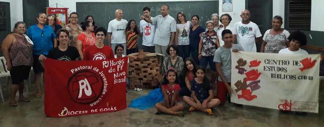 formação bíblica de lideranças em Novo Brasil-GO.
