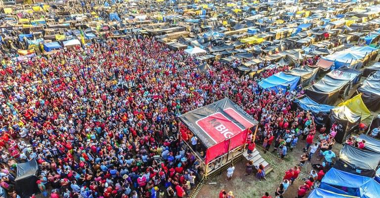 4 mil famílias ocupam área em São Bernardo
