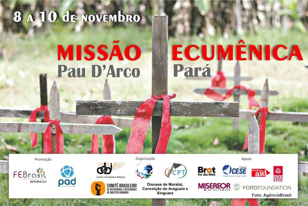 Missão Ecumênica chega a Marabá em apoio aos camponeses e para denunciar violência no campo