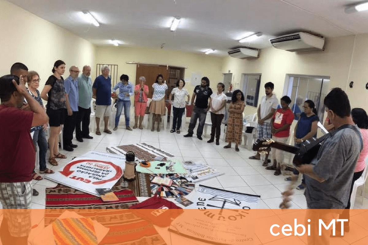 CEBI-MT: Encontros com Ildo Bohn Gass na Baixada Cuiabana