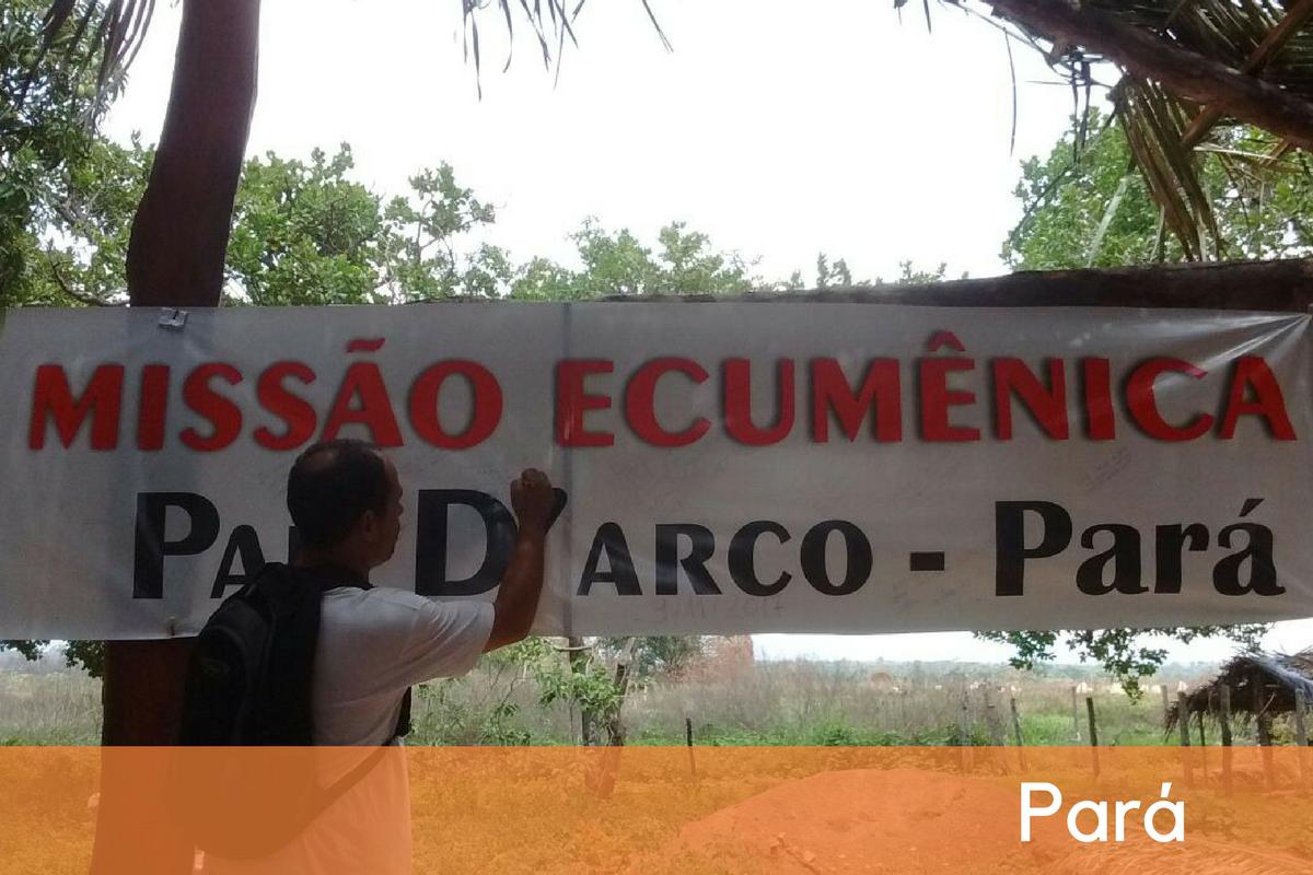 Carta da Direção Nacional do CEBI à Missão Ecumênica no Pará