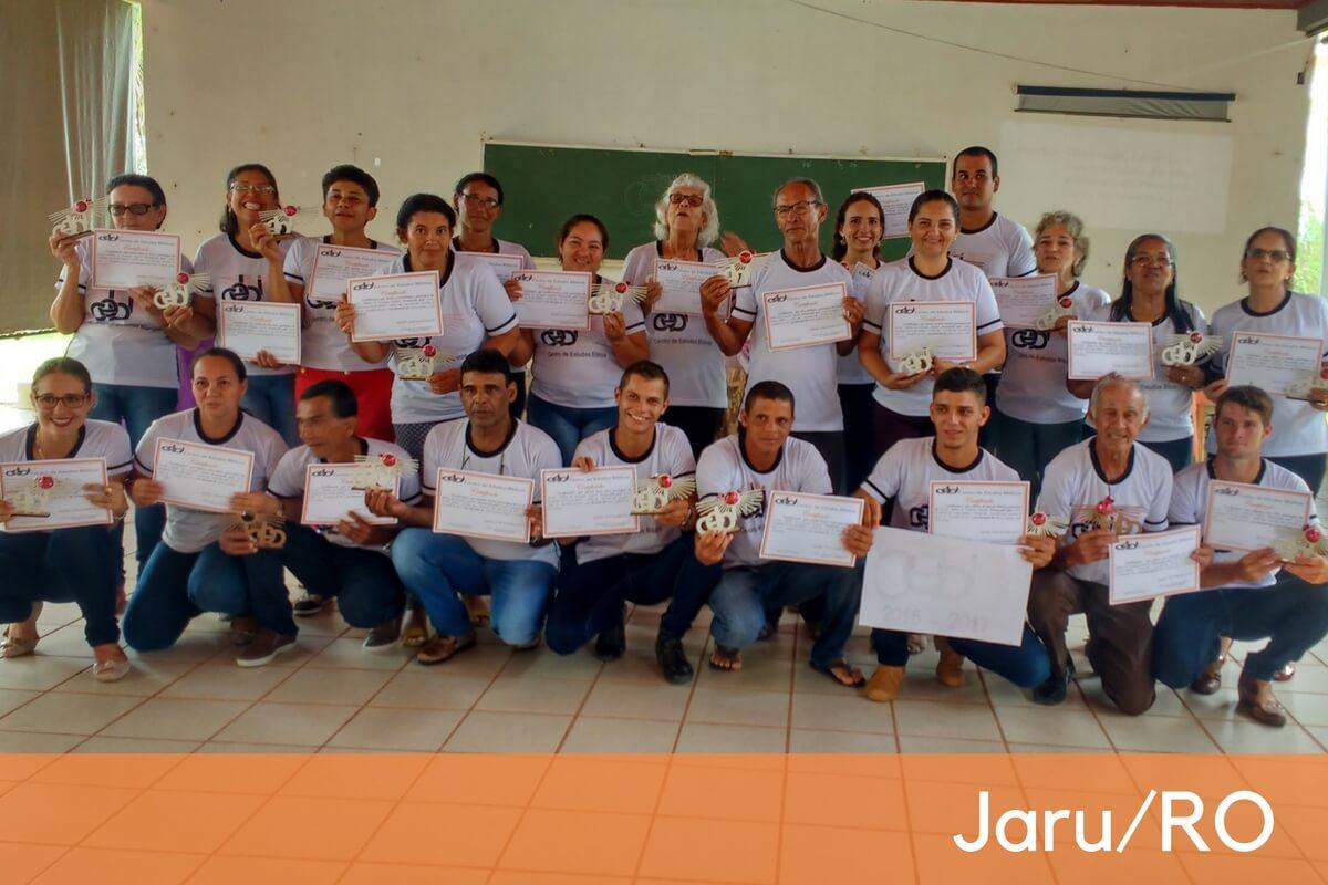 CEBI-RO: Jaru encerra Escola Bíblica estudando apocalipse e celebrando a vida