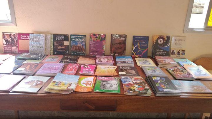 livraria do CEBI presente no evento